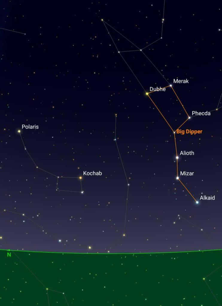 Baja Night Sky Observers Guide The Ventana View - Us-dark-sky-map